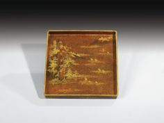 A LACQUER WRITING BOX AND COVER (SUZURIBAKO), JAPAN, EDO PERIOD, 18TH CENTURY