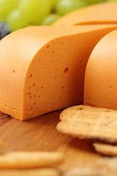 Smoky red pepper vegan cheddar cheese Firm and sliceable and totally delicious on crackers or sandwiches or grated on pizza vegan Cheddar Cheese Recipes, Vegan Cheese Recipes, Vegan Cheese Sauce, Vegan Foods, Vegan Dishes, Nacho Cheese, Best Vegan Cheese, Vegan Recipes, Vegetarian Recipes