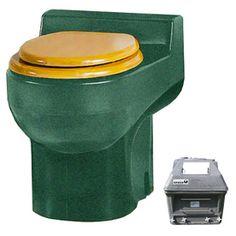 Santerra Green Green Granite 0.8-Gpf (3.03-Lpf) 4 Rough-In Round Compo