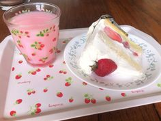 sweet dreams, better pictures of my cake from yesterday ! Pink Foods, Strawberry Milk, Yummy Food, Tasty, Cute Desserts, Cafe Food, Aesthetic Food, Food Cravings, Sweet Tooth