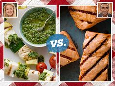 Vote for your favorite grilled fish recipes this week in the #FoodNetworkStar vs. #Chopped Summer Showdown.