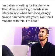 No, I'm Four.