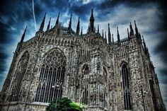 Duomo (Milan Cathedral) in Italy.