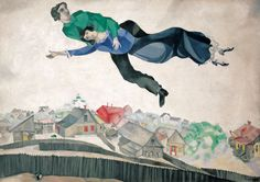 Above the Town - Marc Chagall
