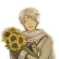 I just think Russia is the cutest one. I can't be the only one. Idk why, but yeh.