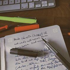 Notiz zur Schreibblockade