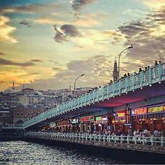 Galata Köprüsü Istanbul Turkiye