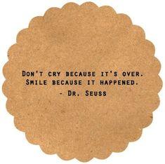 Wisdom from Dr. Seuss.