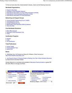 Virtual assistant business plan