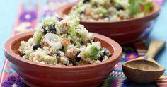 Mexikanischer Quinoa mit Tomate und schwarzen Bohnen: Ein veganes Soul-Food aus Quinoa und Sattmacher für zwei oder All-in-one-Beilage für vier.