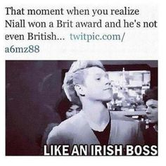 Woah!.... i didn't even think of that!! :O Like an  Irish boss!!