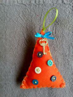 Handmade Christmas tree Handmade Christmas Tree, Christmas Ornaments, Holiday Decor, Unique, Home Decor, Decoration Home, Room Decor, Christmas Jewelry, Christmas Decorations