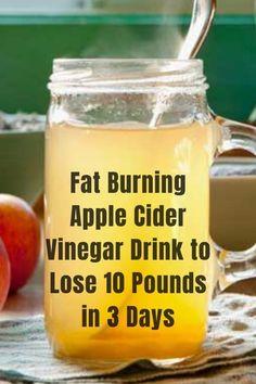 Fat Burning Smoothies, Fat Burning Detox Drinks, Fitness Smoothies, Cider Vinegar Weightloss, Acv Weightloss, Vinegar Detox Drink, Apple Cider Vinegar Detox, Banana Drinks, Banana Milkshake