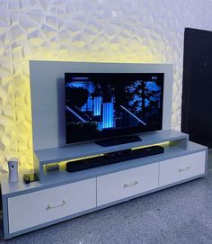 The 50+ Best Entertainment Center Ideas - Home and Design - Next Luxury Floating Entertainment Center, Entertainment Units, Simple Tv Stand, Retro Tv Stand, Cupboard Design, Tv Cupboard, Wardrobe Interior Design, Modern Tv Wall Units, Tv Stand Designs