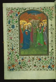 Ascension  Text: Mass of the Ascension - Book of Hours-Bruges-W246