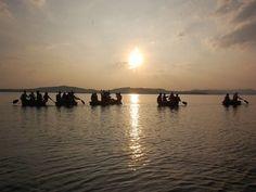 Sharavathi Backwaters / Honnemardu and Jog Falls Outing >>>#camping #rafting #Outing