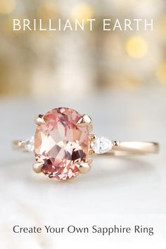 Choose a sapphire from our large collection to create your own sapphire ring. Cute Jewelry, Jewelry Rings, Jewelery, Jewelry Accessories, Cute Rings, Pretty Rings, Beautiful Rings, Love Ring, My New Room