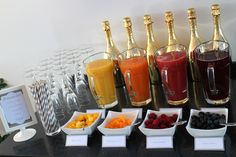 Brunch & Bubbels 2015 Mimosa bar