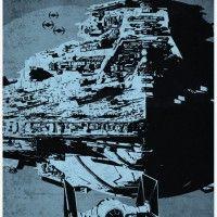 Star Wars Spaceship Poster Set - Star Destroyer