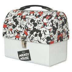 Mickey Mouse Montage Domed Tin Tote
