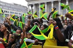 Jamaicans, celebrate the independence of the country over 50 years ago from the British.