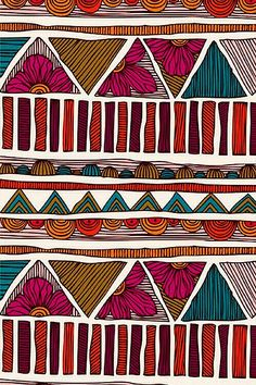 Modeconnect.com - Tribal inspired Pattern