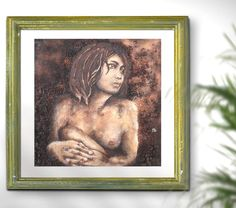 A sophisticated woman nude art by FraBor - Original mixed media painting on sale at http://etsy.me/2jNIApN #etsyhunter #etsyelite #etsyscout #craftsposure #handmade #smallshop #etsy #etsyseller #etsyartist #etsyaddict #welovecollect #artoftheday #handmadeart #artsandcrafts #EtsyShopOwner #etsyeurope #differencemakesus #makersgonnamake #erotic #nudity #painting #textured #wallsculpture #pebbleart #3Dpainting #mixedmedia #original #giftideas #portrait #nude