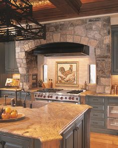 Old Italian Tuscan Kitchen Decor | Looking for Tuscany Kitchen Design Ideas for your Kitchen Remodel?