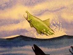 Storyboards by Artist Derek Gundy, Fish Art, Wine Art, Art Classes, Art Marketing