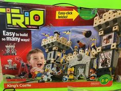 Fisher Price Trio Kings Castle Building Set 214 Pcs Complete   eBay
