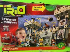 Fisher Price Trio Kings Castle Building Set 214 Pcs Complete | eBay