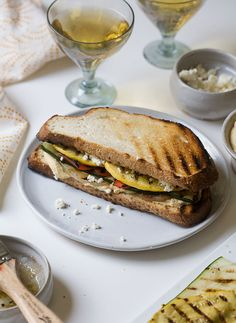 We'll take your grilled vegetables and raise you this delicious Grilled Veggie Sandwich.
