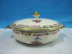 Guisera Porcelana Limoges P.l Estilo Art Decó - $ 1.000,00 en MercadoLibre