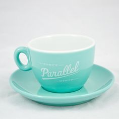 Forty Ninth Parallel — 6oz Cappuccino Cup & Saucer