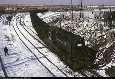 Net Photo: PC 7653 Penn Central Alco at North Bergen, New Jersey by Diesel Locomotive, Steam Locomotive, North Bergen, Milwaukee Road, Pennsylvania Railroad, New York Central, New Jersey, Trains, Ohio