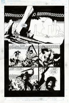 Mike Mignola - Fafhrd & Gray Mouser