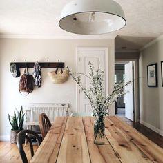 Rustic farmhouse dining room furniture and decor ideas (30)