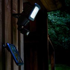 Projecteur solaire LED avec détecteur de mouvement