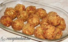 To je nápad! Meals Without Meat, Cooking Recipes, Healthy Recipes, Russian Recipes, Cauliflower, Zucchini, Tapas, Muffin, Food And Drink