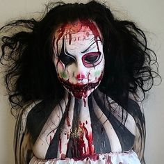 "4,307 Likes, 73 Comments - The Horror Gallery (@thehorrorgallery) on Instagram: ""Special effects makeup by @joannastrange ★"""