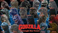 godzilla through the years | Godzilla Through the Years -English Version- by ~CupCakeKumi on ...