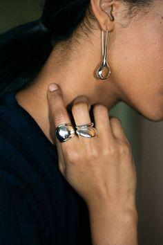 Pamela Love Ring - Silver Radius Ring | BONA DRAG