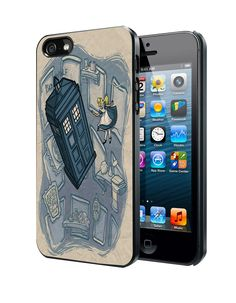 Awesome Disney Princess Doctor Who Mash-Up iPhone 4 4S 5 5S 5C Case
