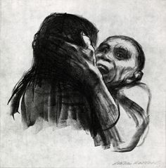 Cave to Canvas, Death Recognized as a Friend - Käthe Kollwitz,...