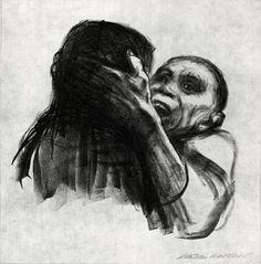 Cave to Canvas, Death Recognized as a Friend - Käthe Kollwitz,...