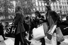 Where to go for fashion bargains in Paris - via HiP Paris, anw.fr, Shopping on a budget in Paris