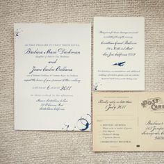 69 best wedding invitation ideas images on pinterest invitations vintage travel inspired invitation suite photographer choco studio invitations lucky fandeluxe Image collections