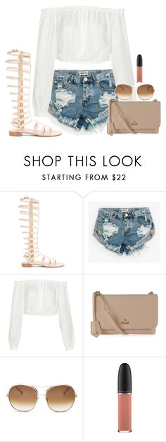 """""""Untitled #1837"""" by seventeene ❤ liked on Polyvore featuring Stuart Weitzman, OneTeaspoon, Elizabeth and James, Vivienne Westwood, Chloé and MAC Cosmetics"""