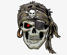 Illustration about Pirate skull with black bandana. Illustration of bone, bandana, illustration - 72066858 Pirate Tattoo, Pirate Skull Tattoos, Pirate Illustration, Tattoo Caveira, Kopf Tattoo, Arte Viking, Skull Pictures, Skull Artwork, Skull Drawings