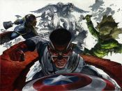 All New Captain America Fear Him #1 & #2 by Simone Bianchi